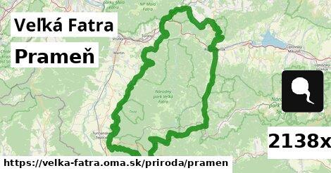 ilustračný obrázok k Prameň, Veľká Fatra