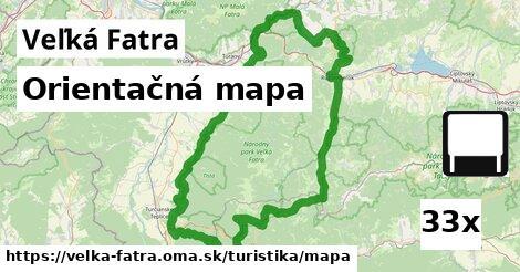 ilustračný obrázok k Orientačná mapa, Veľká Fatra