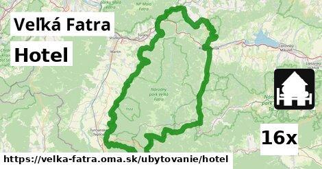 hotel v Veľká Fatra