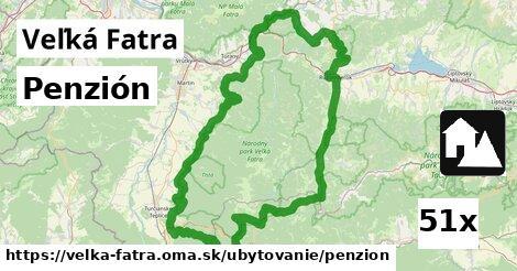ilustračný obrázok k Penzión, Veľká Fatra