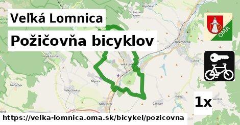 požičovňa bicyklov v Veľká Lomnica