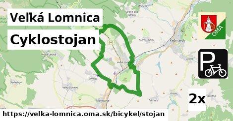 cyklostojan v Veľká Lomnica