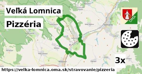 pizzéria v Veľká Lomnica