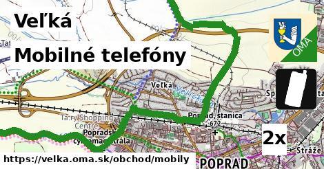 mobilné telefóny v Veľká