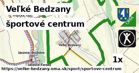 športové centrum v Veľké Bedzany