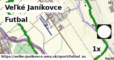 futbal v Veľké Janíkovce