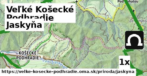 jaskyňa v Veľké Košecké Podhradie
