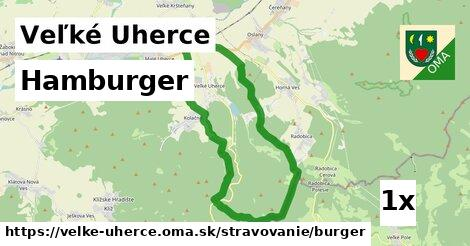 hamburger v Veľké Uherce