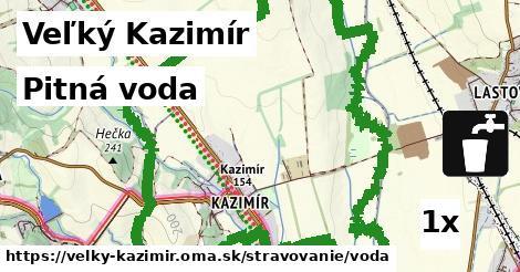 pitná voda v Veľký Kazimír