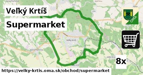 supermarket v Veľký Krtíš