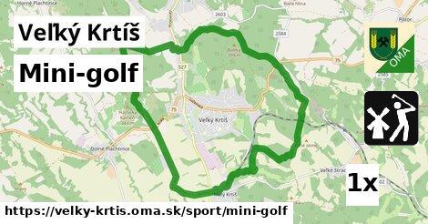 mini-golf v Veľký Krtíš