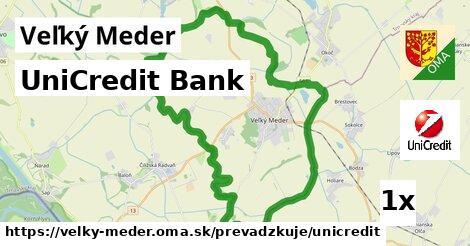 UniCredit Bank v Veľký Meder
