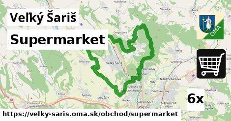 supermarket v Veľký Šariš
