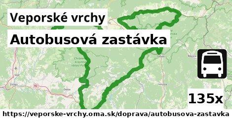 ilustračný obrázok k Autobusová zastávka, Veporské vrchy