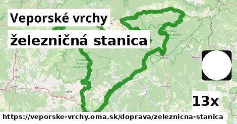 ilustračný obrázok k železničná stanica, Veporské vrchy