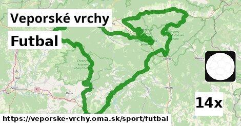 ilustračný obrázok k Futbal, Veporské vrchy