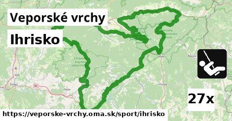 ilustračný obrázok k Ihrisko, Veporské vrchy