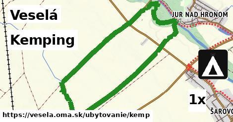 kemping v Veselá