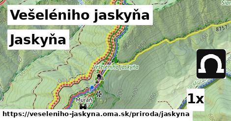 ilustračný obrázok k Jaskyňa, Vešeléniho jaskyňa