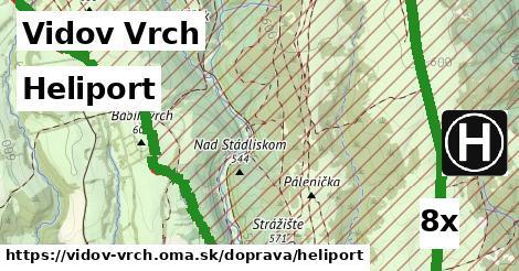 heliport v Vidov Vrch