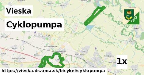 ilustračný obrázok k Cyklopumpa, Vieska, okres DS