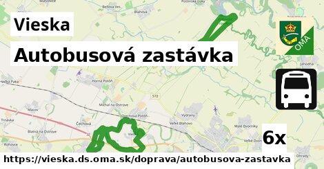 ilustračný obrázok k Autobusová zastávka, Vieska, okres DS