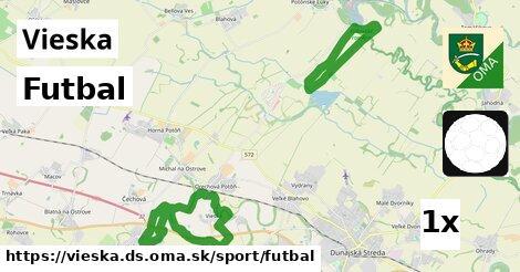 ilustračný obrázok k Futbal, Vieska, okres DS