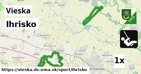ilustračný obrázok k Ihrisko, Vieska, okres DS