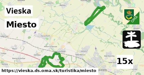 ilustračný obrázok k Miesto, Vieska, okres DS