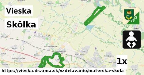 ilustračný obrázok k Skôlka, Vieska, okres DS