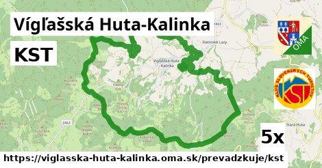 ilustračný obrázok k KST, Vígľašská Huta-Kalinka