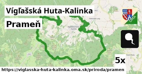 ilustračný obrázok k Prameň, Vígľašská Huta-Kalinka