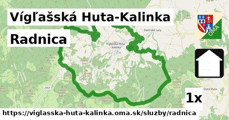 ilustračný obrázok k Radnica, Vígľašská Huta-Kalinka