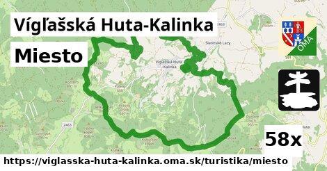 ilustračný obrázok k Miesto, Vígľašská Huta-Kalinka