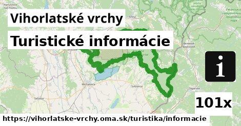ilustračný obrázok k Turistické informácie, Vihorlatské vrchy