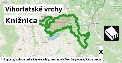 ilustračný obrázok k Knižnica, Vihorlatské vrchy