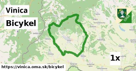bicykel v Vinica