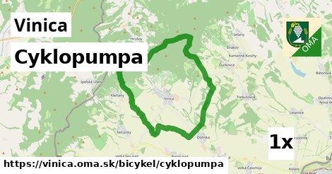 cyklopumpa v Vinica