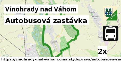 ilustračný obrázok k Autobusová zastávka, Vinohrady nad Váhom