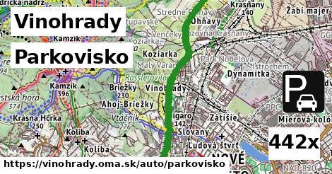 ilustračný obrázok k Parkovisko, Vinohrady
