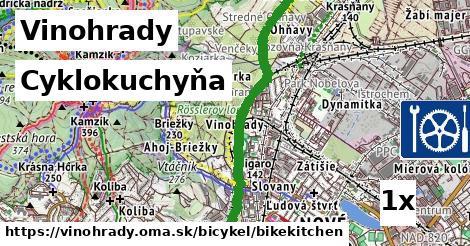 cyklokuchyňa v Vinohrady