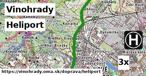 ilustračný obrázok k Heliport, Vinohrady