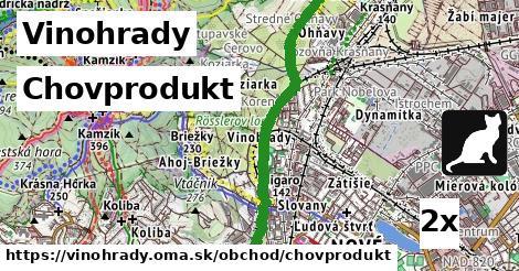 ilustračný obrázok k Chovprodukt, Vinohrady