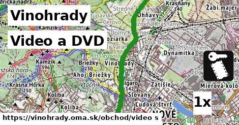 video a DVD v Vinohrady