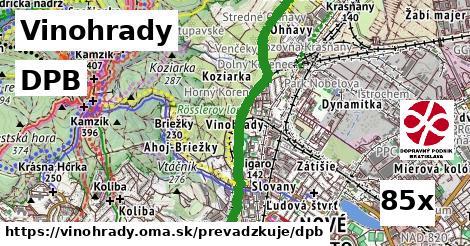 ilustračný obrázok k DPB, Vinohrady