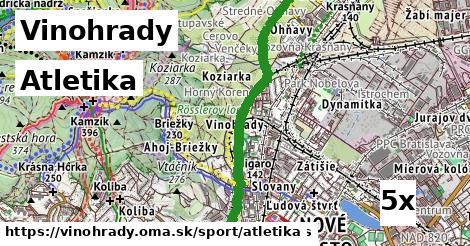 ilustračný obrázok k Atletika, Vinohrady