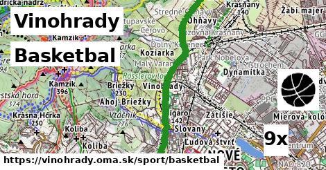basketbal v Vinohrady