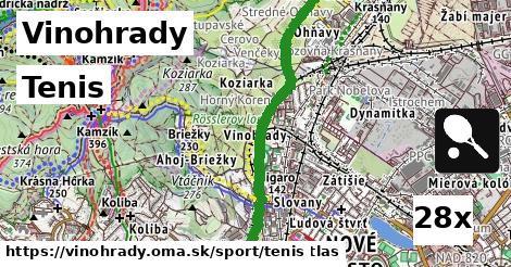 tenis v Vinohrady