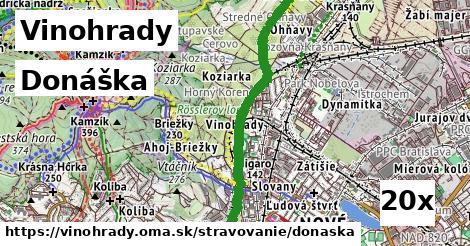 ilustračný obrázok k Donáška, Vinohrady