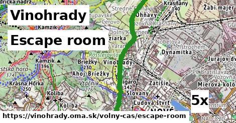 ilustračný obrázok k Escape room, Vinohrady